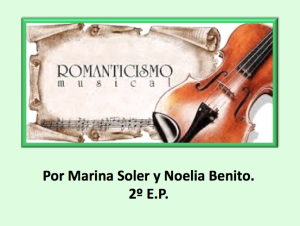 RomanticismoI