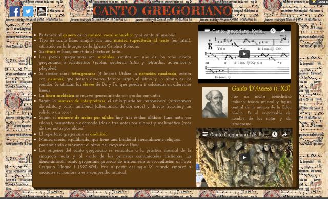 WixCanto Gregoriano