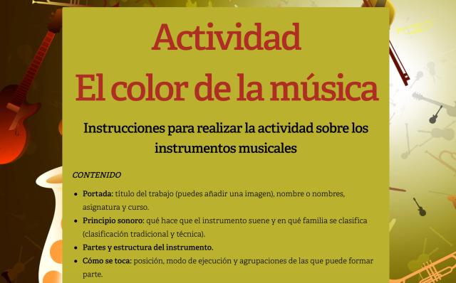 Actividad.Elcolordelamusica